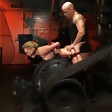 Hot bitch gets bound and fucked hard