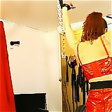 Amateur redhead spanked and tortured